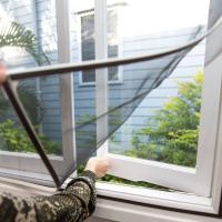 Best Anti mosquito zika protection - DIY Magnetic strips window screen wholesale