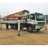 Best China truck mounted concrete pump, 28,32,37,42,48,52m ISUZU Concrete Pump Truck wholesale