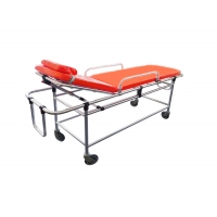 China Non-magnetic Alloy Portable Emergency Automatic Ambulance Stretcher Bed for MRI for Hospital on sale