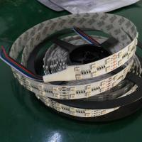 Best Waterproof 28.8W SMD LED Strip , RGBW 120 led/meter Full Color SMD 5050 Led Strip wholesale