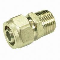 China Brass Fitting for Pex-al Pex Pipe, Good Sound Insulation and No Pipe Furring on sale