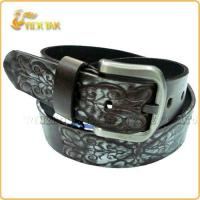Buy cheap Men Genuine Leather Embossing Belt from wholesalers