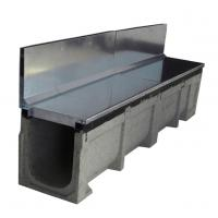 Best polymer linear drainage channel with hot dip galvanized gratings wholesale