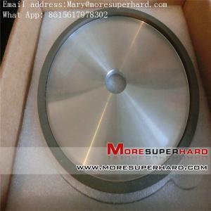 China 4A2 resin bond diamond/ CBN grinding wheel Mary@moresuperhard.com on sale