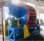 Best ZPS Tire Shredding Machine For Shredding waste Tyres Into 6*6cm Block , 2-4ton per hour wholesale
