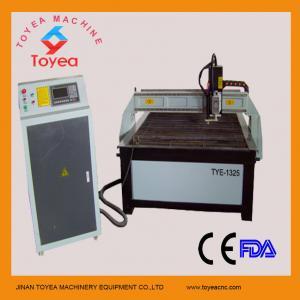 Best Hypertherm plasma cutting machine with 1300 x 2500mm,servo motor ,HIWIN square linear rail TYE-1325 wholesale