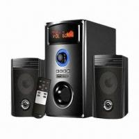 Best 2.1-channel Computer Speakers with LED Screen, FM, Remote Control, Support USB and SD Cards wholesale