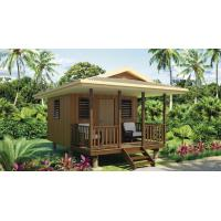 Best Quick Assemble Light Steel Guage Frame Prefab Home Beach Customized Bungalows wholesale