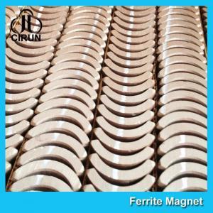 Best Custom Industrial Ceramic Ferrite Magnets Arc Shaped Y25 Y30 Y30BH Y35 Grade wholesale