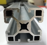 Best 40mm*40mm Thickness 1.5mm Aluminum Extrusion Profiles wholesale