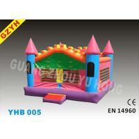 Best Mini Kids Inflatable Jumpers Bouncers Castle YHB-005 with Anti - UV 0.55mm PVC Tarpaulin wholesale