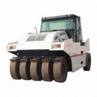 Best Pneumatic Road Rollers with 20.75kph Tallest Headway Speed and Low-gravitational Center Design wholesale