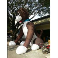 Best New finished Inflatable giant sitting dog for sale wholesale