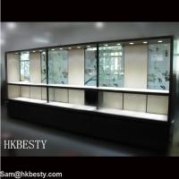 Buy cheap Diamond & Sapphire Jewellery Display Wall Cabinet product