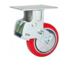 China 8 inch Shock Absorbing Casters for Cargo Transportation Trolley Electric Transport Cart on sale