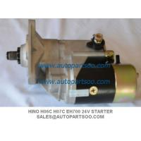 China Brand New 4HF1 Starter Motor For Isuzu NPR NQR 4HF1 24V on sale
