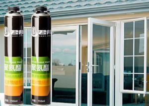 Best Liquid Fireproof Pu Foam ISO14001 Liquid Fireproof Pu Sealant Foam wholesale