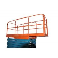 China 450Kg AC / DC Adjustable Extension Heavy Duty Scissor Lift with Four Wheel , Customized on sale