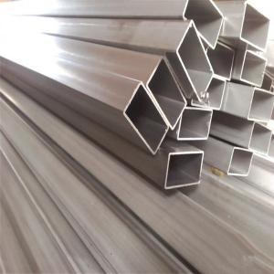 Best ASTM B338 Grade2 Seamless Titanium Rectangular Tube wholesale
