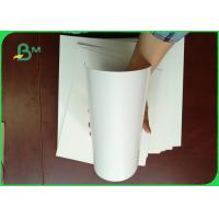 Best 100% Virgin Wood Pulp 300g Cardboard Paper Roll / Ivory Board Paper For Book Cover wholesale