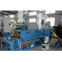 PVC Cable Extrusion Machine , Cable Processing Equipment 6 Segment Temperature Control