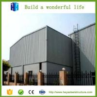 Best earthquake proof prefabricated steel building easy construction wholesale