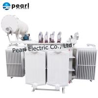 Buy cheap 2500kVA Oil Immersed Tansformer With Oil Tank , Reasonable Structure from wholesalers