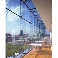 China Blue , Green , Clear Anti-UV Safety Laminated Glass For Offic Building Windows on sale