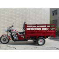 Best Disc Brake Cargo Motorcycle , 300cc 250cc Motor Tricycle ISO9000 CCC Certification wholesale