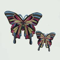China Factory price high quality woven patch sequin patch or embroidery patch for jeans on sale