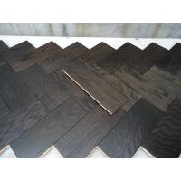 Best White Oak Parquet Herringbone (stained wenge color) wholesale