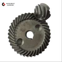 China Carbon Steel Forging Large Module Crown Gear Ring and Pinion Gear Set on sale