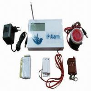 China Wireless IP Based Alarm System/IP Intruder Burglar Home Alarm, Wired Zones on sale