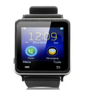 Cheap I7 handsfree Watch Phone Bluetooth Smart Watch Black Wearable Smart Watch for sale