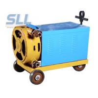China Electric Motor Grout Injection Pump High Capacity Pump Single Cylinder And Double Piston on sale