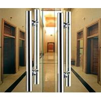 Best Double Sided Stainless Steel Exterior Door Handles Satin Stainless Steel Door Latch wholesale