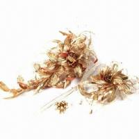 Best Gold Whirlwind Bridal Headwear, Made by Twist Technique to Present a Noble Design wholesale