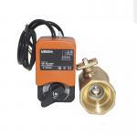 Best 24V 0-10V/4-20mA Electric Motorized Ball Valve , Actuator Proportional Control Ball Valve wholesale