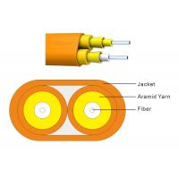 China Excellent Ftth Indoor Drop Cable , Fiber Optic Ethernet Cable CE Approved on sale