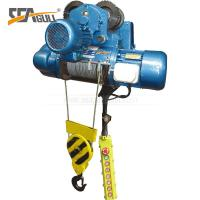 5 Ton Double Speed Industrial Electric Chain Hoist / Electric Winch Hoist High Efficient  for One year warranty
