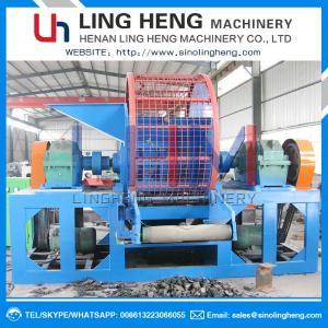 Best Customizable Recycling Waste Tire LH600-LH2000 Shredder Machine/Rubber Shredder Machine For Sale wholesale
