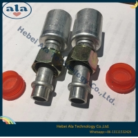 Best auto air conditioning hose fitting beadlock fitting Auto A/C Hose Ends R134a A/C fittings Couplers Adapters Connectors wholesale