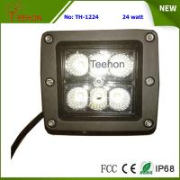 Best 24 Watt Square LED Working Light for 4WD Vehicle and Heavy-Duty Truck wholesale