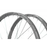 Buy cheap 27.5 Inch Clincher Carbon Fiber Road Wheels , Center Lock Bicycle Rim Wheel from wholesalers