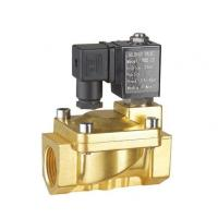 China Brass Two Inch Electric Latching Solenoid Valve Water 0.3 ~7 Bar G Thread / NPT Thread on sale