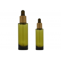China 20ml 30ml PETG Cosmetic Dropper Bottles For Essential Oil on sale