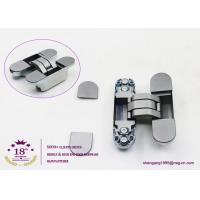 China 180 degree zinc alloy 3D adjustable concealed gate hinges heavy duty hinges for heavy doors on sale