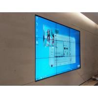 Buy cheap 55 inch Seamless Narrow Bezel LCD Video Wall HD 4K Resolution display for shop from wholesalers