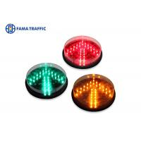 Best 200mm Yellow Arrow Traffic Light LED Module , LED Traffic Signal Lights Long Life Span wholesale