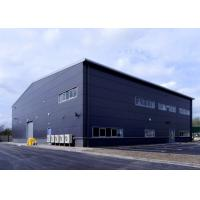 China Two Floors Hot Dip Galvanized Steel Frame Building , Multi Story Prefab Storage Units on sale